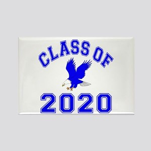 Class Of 2020 Eagle Rectangle Magnet
