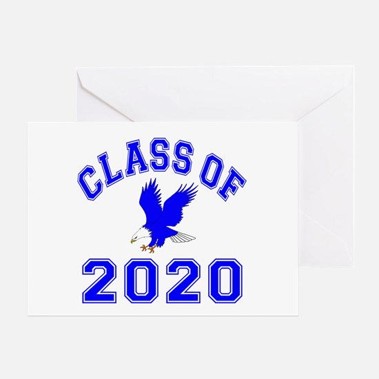 Class Of 2020 Eagle Greeting Card