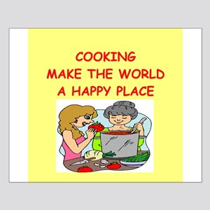 cooking Small Poster