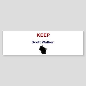 Scott Walker Sticker (Bumper)