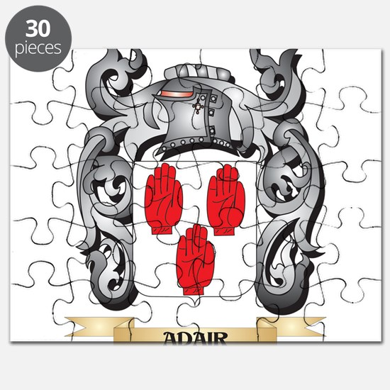 Adair Family Crest - Adair Coat of Arms Puzzle