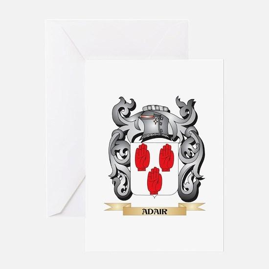 Adair Family Crest - Adair Coat of Greeting Cards