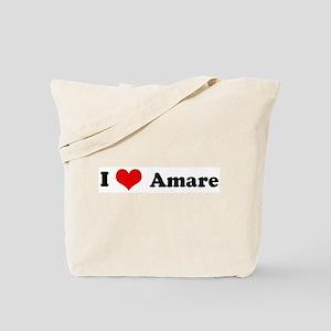 I Love Amare Tote Bag