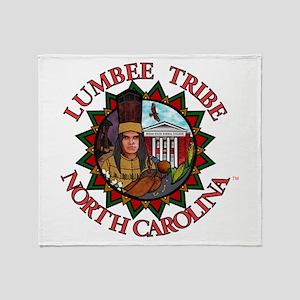 Lumbee Pride Throw Blanket