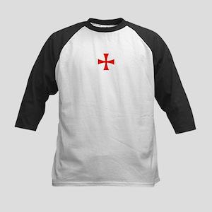 Templar Cross Kids Baseball Jersey