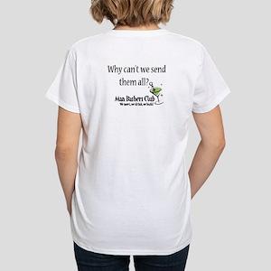 Funny Women's Divorce V-Neck T-Shirt