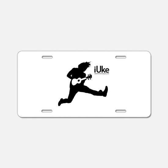 New iUke Products Aluminum License Plate