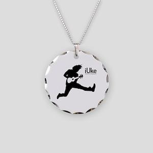 New iUke Products Necklace Circle Charm