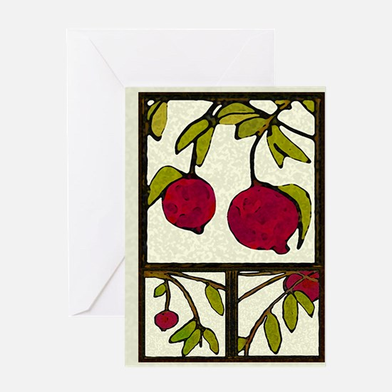 pomegranates Season's Greetings Card