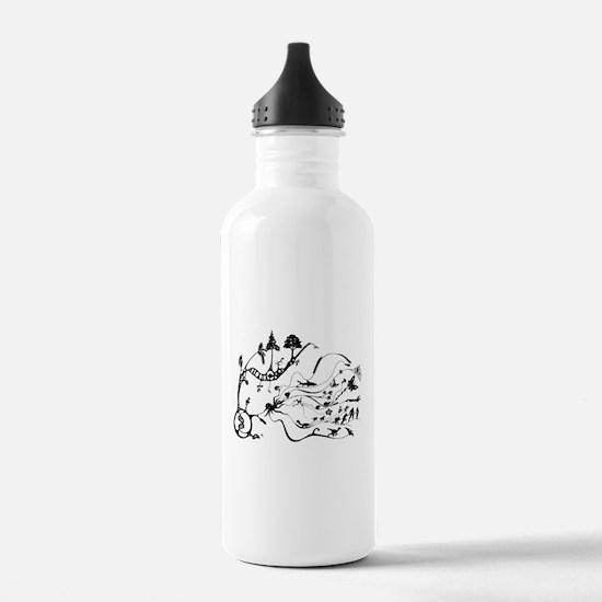 Cute Darwin Water Bottle