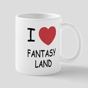 I heart fantasy land Mug
