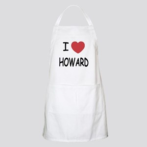 I heart howard Apron