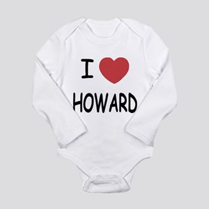 I heart howard Long Sleeve Infant Bodysuit