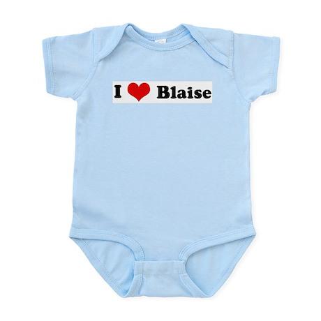 I Love Blaise Infant Creeper