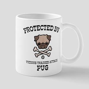 Protected By Pug Mug