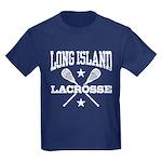Long Island Lacrosse Kids Dark T-Shirt