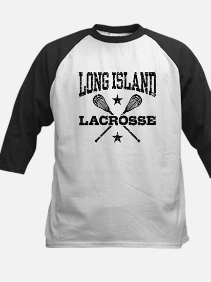 Long Island Lacrosse Kids Baseball Jersey