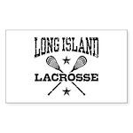 Long Island Lacrosse Sticker (Rectangle)