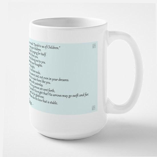 Kahlil Gibran Quote Large Mug
