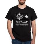 HamTees.com Morse Key Dark T-Shirt