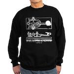 HamTees.com Morse Key Sweatshirt (dark)