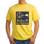 HamTees.com Morse Key Yellow T-Shirt
