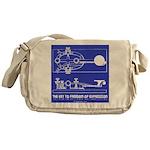 HamTees.com Morse Key Messenger Bag