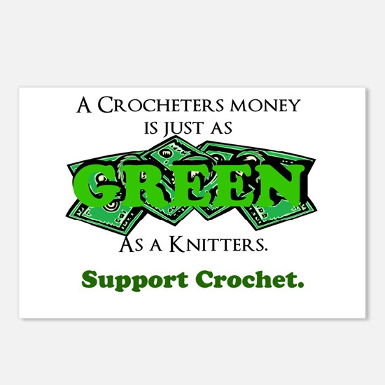 Support Crochet Postcards (Package of 8)