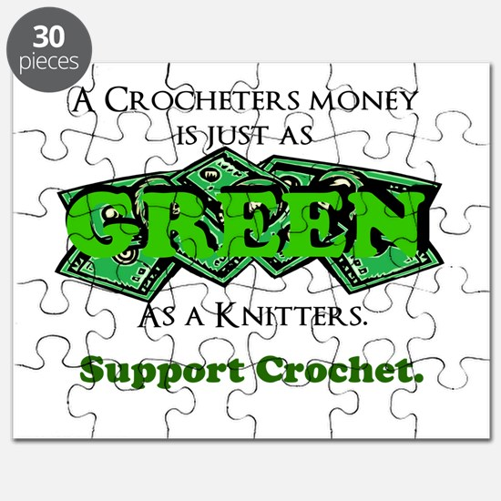 Support Crochet Puzzle