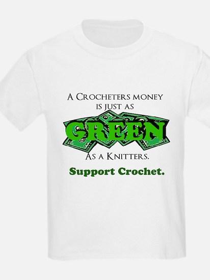 Support Crochet T-Shirt