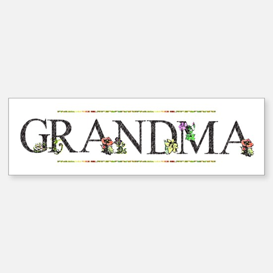 Grandma Sticker (Bumper)