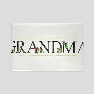 Grandma Rectangle Magnet