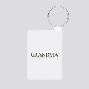 Grandma Aluminum Photo Keychain
