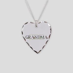 Grandma Necklace Heart Charm