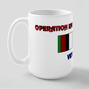 OEF VETERAN- Large Mug