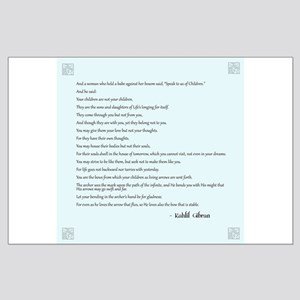 Kahlil Gibran Quote Large Poster