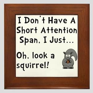Short Attention Framed Tile