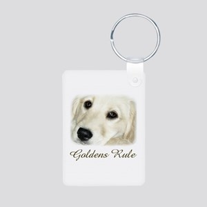 Goldens Rule Aluminum Photo Keychain