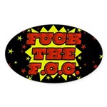 F the FCC Sticker (Oval)