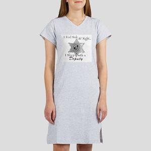 Feel Safe Deputy Women's Nightshirt