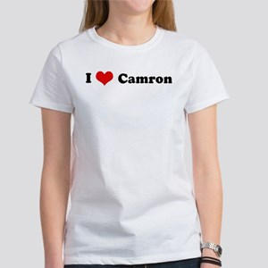 I Love Camron Women's T-Shirt