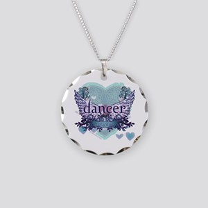 dancer forever by DanceShirts.com Necklace Circle