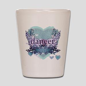 dancer forever by DanceShirts.com Shot Glass