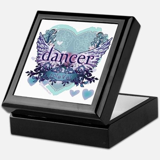 dancer forever by DanceShirts.com Keepsake Box