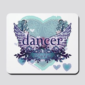 dancer forever by DanceShirts.com Mousepad