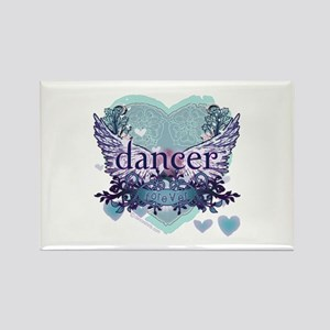 dancer forever by DanceShirts.com Rectangle Magnet