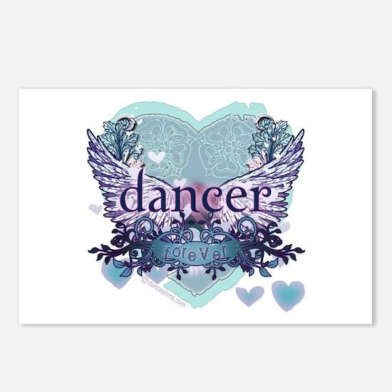 dancer forever by DanceShirts.com Postcards (Packa