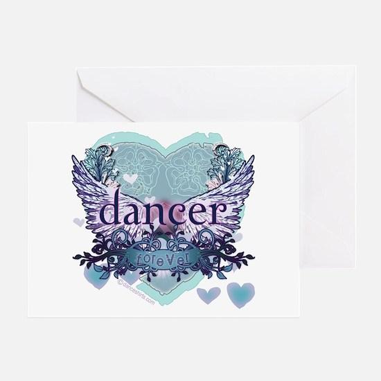 dancer forever by DanceShirts.com Greeting Card