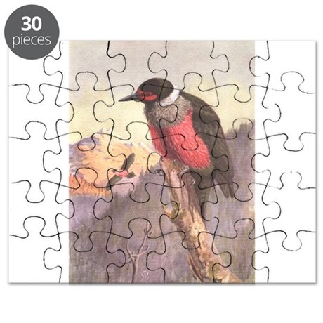 Lewis Woodpecker Puzzle