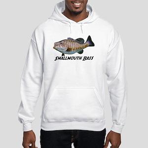 Smallmouth Bass Hooded Sweatshirt